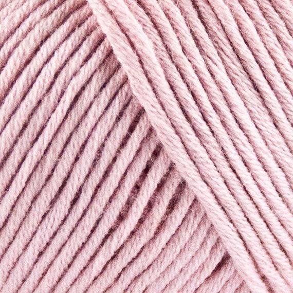 STRIKDET Organic Cotton - light rose / Økologisk Bomuld - lys rosa