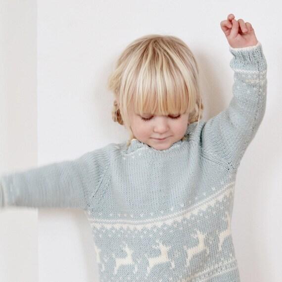 Wintersweater - KNITTING PATTERN - ENGLISH