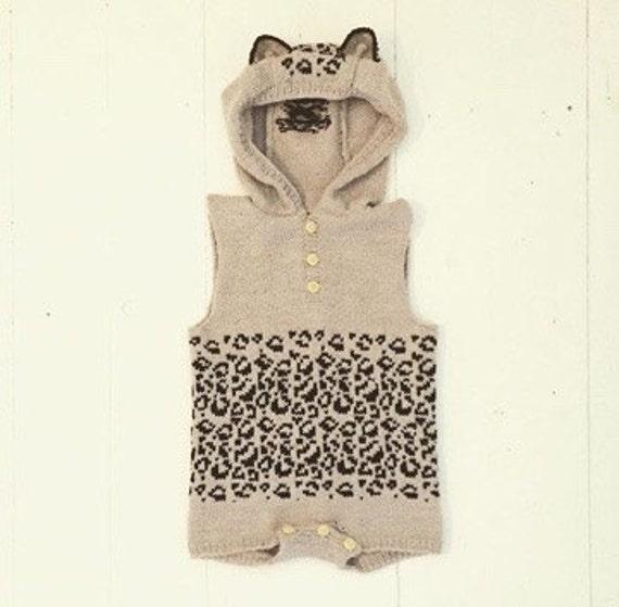 The Mini Leopard - Knitting pattern - EN
