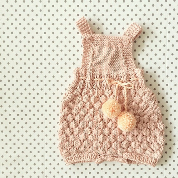 The Sailor Romper Suit - Knitting Pattern
