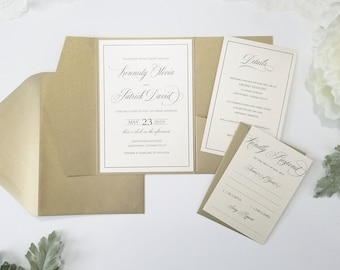 formal invitations etsy