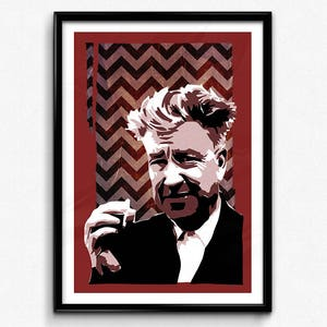 David Lynch pre signed photo print poster Eraserhead Twin peaks