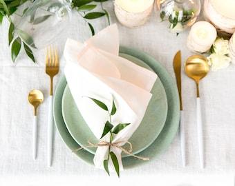 Bulk napkins for Wedding made of pure linen