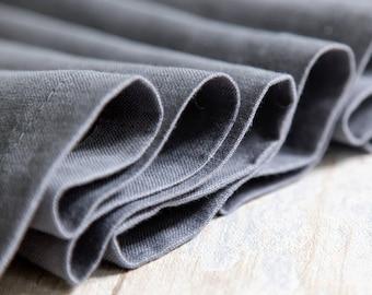 Slate grey handmade long table runner - Ready to ship