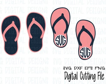 c1da8fa9c224e Flip Flops Svg Files