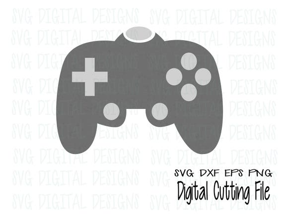 Video Game Controller Svg Cutting Files For Silhouette Cricut More Svg Dxf Eps Vinyl Cut Files Vector Download