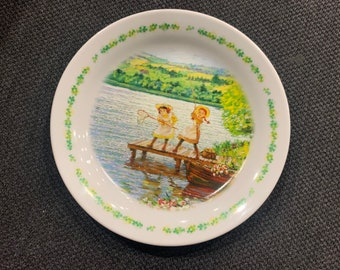 Ltd. Vintage Anne of Green Gables Plate Dish Original from Japan Nippon Animation Co.