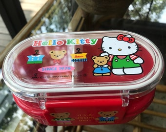 Vintage 1993 Sanrio Hello Kitty New Lunch Box Made in Japan