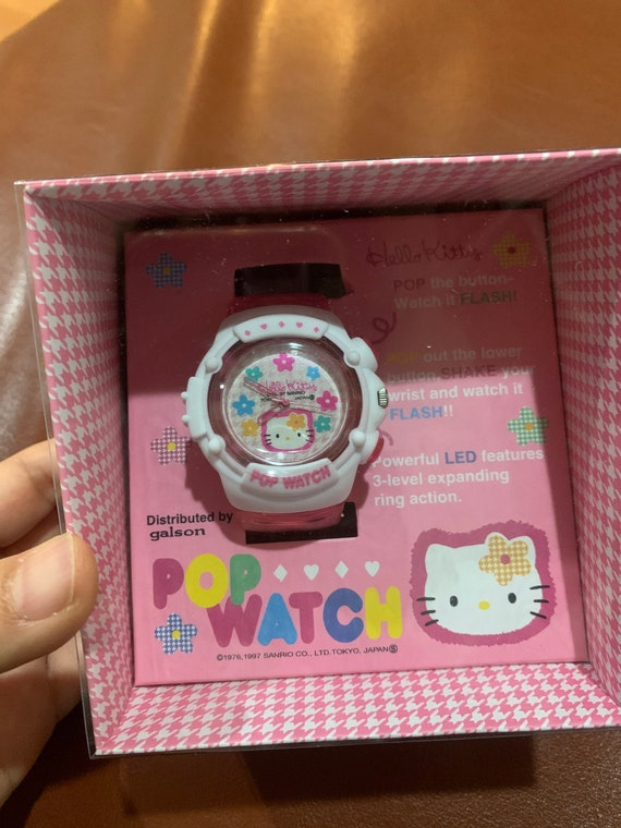 Vintage 1997 Sanrio Hello Kitty watch