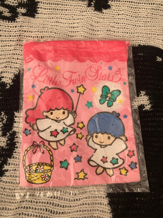 Vintage 1993 Sanrio Little Twin Stars double draws