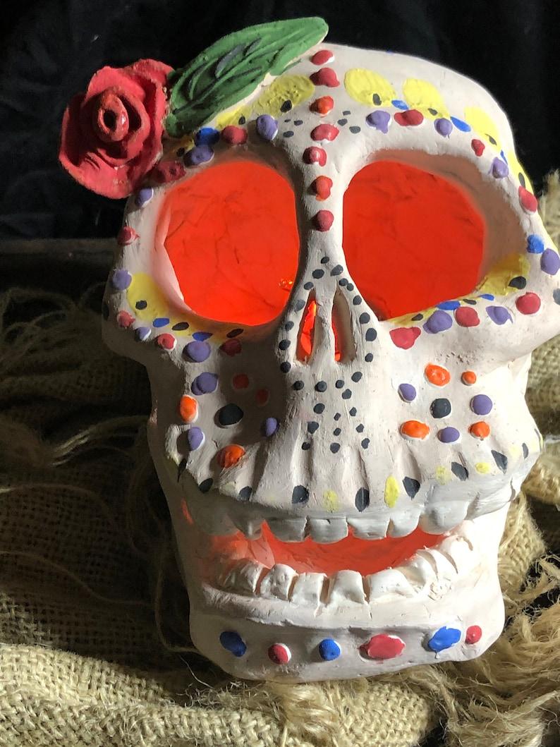 Rose sugar Skull Light