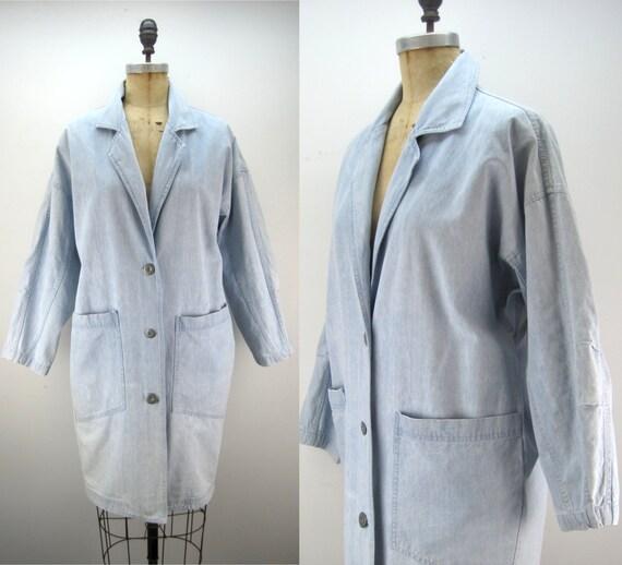90s chore coat, canvas jacket, Izzi coat