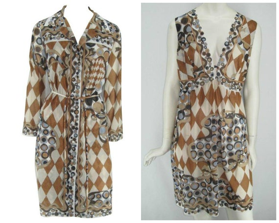 Vintage 60s Emilio Pucci for Formfit Rogers set, o