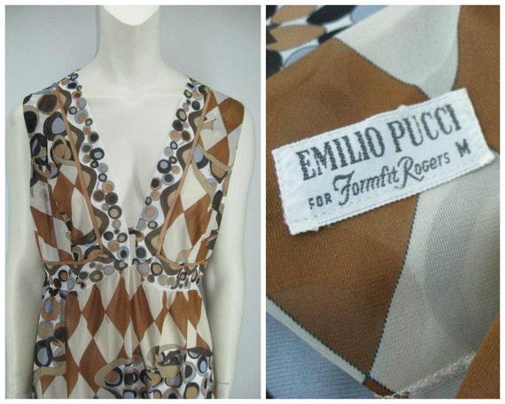 Vintage 60s Emilio Pucci for Formfit Rogers set, … - image 4