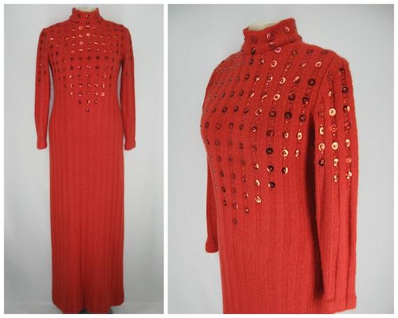 Vintage 70s Malcom Starr for Rizkallah dress, 70s
