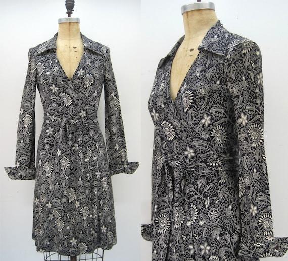 70s DVF jersey wrap dress, Diane Von Furstenberg