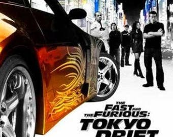 Fast And Furious 3 Full Movie >> Tokyo Drift Etsy