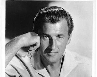 STEWART GRANGER - Original 8x10 Glossy Still Portrait Photo - MGM Studios - 1950's/1960's
