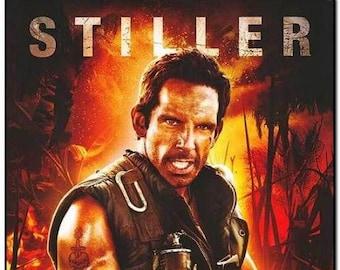 TROPIC THUNDER - 2008 - Original 27x40 Movie Poster - Advance Style of Ben Stiller