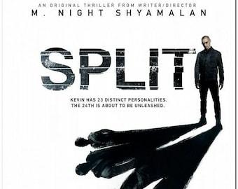 """SPLIT - 2017 - Original 2-Sided 27X40 Movie Poster - Advance Style """"A"""" - James McAvoy, Anya Taylor-Joy, Haley Lu Richardson"""