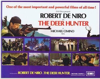 DEER HUNTER - 1978 - Original UK Full Color Pressbook - 16 Pages - Robert De Niro, Meryl Streep, Christopher Walken