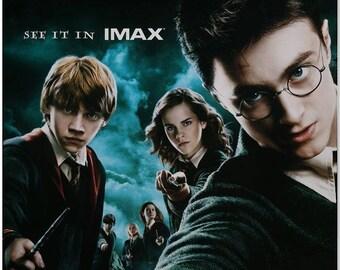 HARRY POTTER: Order of the Phoenix - 2007 - Original 27x40 Movie Poster - IMAX Style - Daniel Radcliffe, Emma Watson