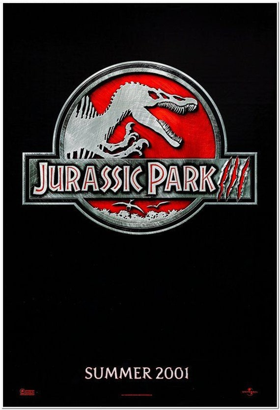 """""""Jurassic Park III"""" is officially 20 years old! Il_570xN.1661259106_7m8l"""