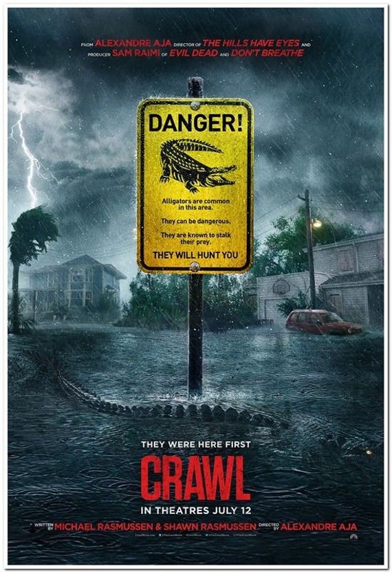 Image result for crawl 2019 poster