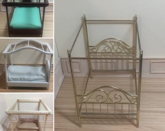 1:12 Scale Dollhouse Miniature - Canopy Bed (pieces sold individually)