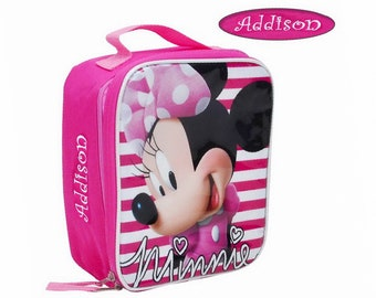 952e68adb4b Personalized Minnie Mouse Lunch Box