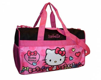 6a27011ba9b3 Personalized Hello Kitty Duffel Bag - 18