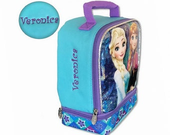 b5d24af5ea6 Personalized Frozen Lunch Box - Double Compartment