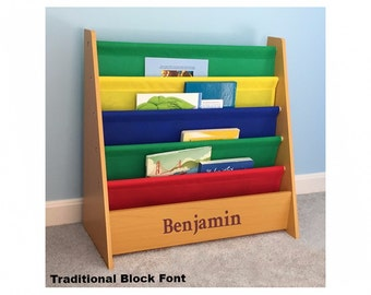 Personalized Dibsies Kids Primary Bookshelf