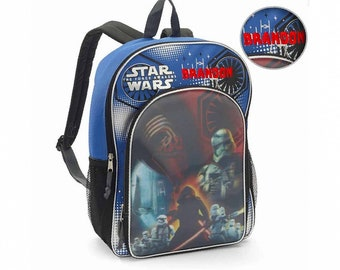 34d864fb9e68 Personalized Licensed Disney Character Backpack - 16 Inch (Star Wars)