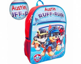 f9244c9d77 Personalized Paw Patrol 3D Molded Backpack - 16 Inch