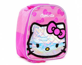0a935fcb0322 Personalized Hello Kitty Lunch Bag