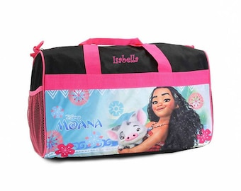 0aa9c1fba5d Personalized Moana Kids Travel Duffel Bag - 18