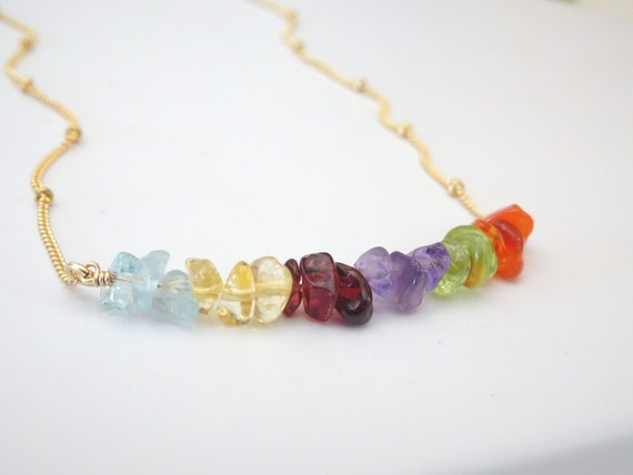 Zodiac Crystal Necklace natural Birthstones Healing stone Jewelry meaningful necklace for women Personalized Birthday gifts