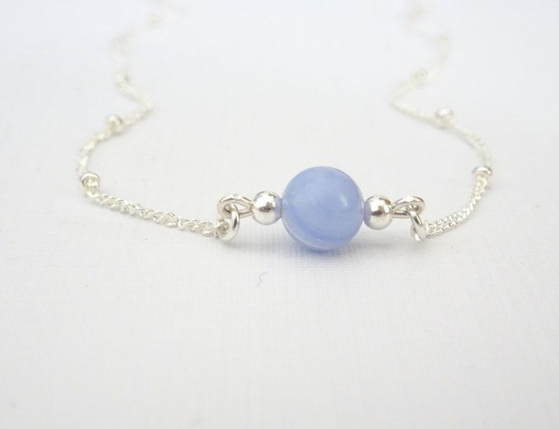 Bluelace Agate Necklace