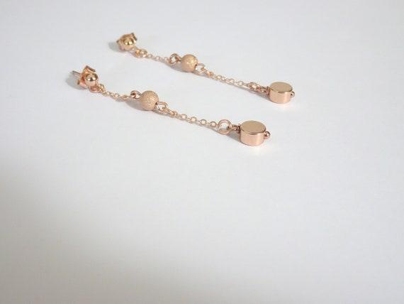Lumière Délicate Rose Gold Tone coeurs à cheveux Grenouille Broche Accessoires HA30