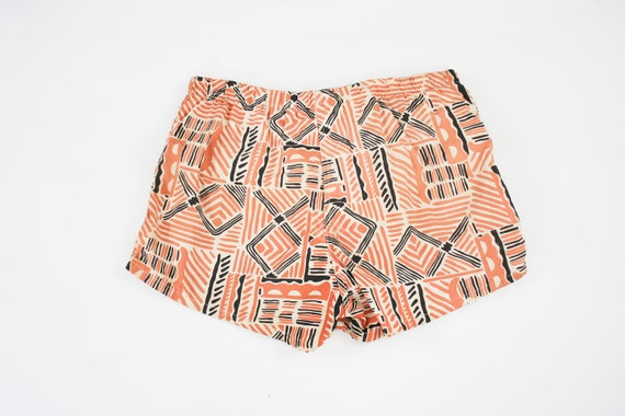 40 Orange Bathing Boomers Suit Size Large in Hawaiin Shorts Jockey Swim Swim Vintage Island Tiki 1940s Trunks waist Mens nZqBEU7