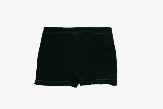 Vintage 1950's Boys Bathing Suit - Black - Swim Sh