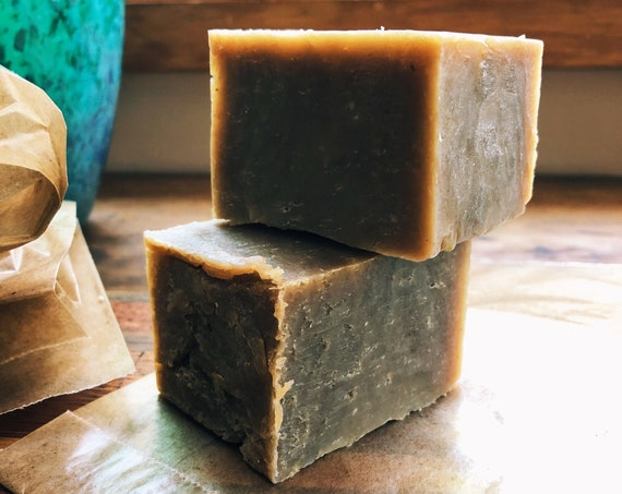 Organic Neem and Nettle Shampoo Bar