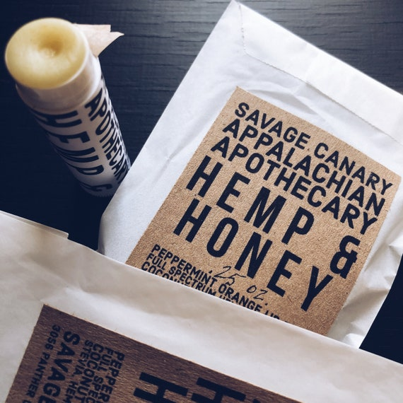 Hemp and Honey Lip Balm