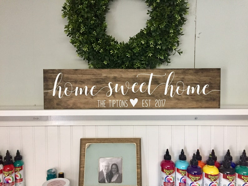 personalized signs wedding gift