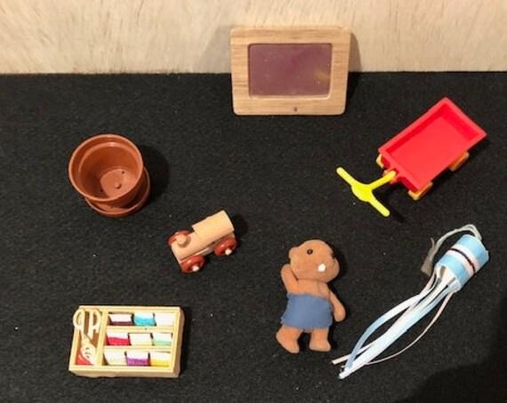 Vintage Dollhouse Accessories Etsy