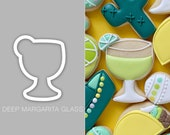 Deep Margarita Glass Cookie Cutter