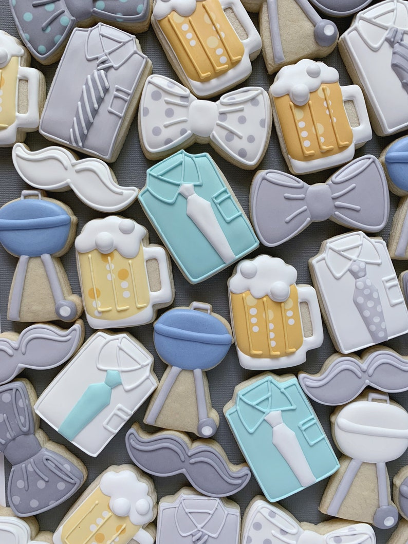 Set of 5! Father/'s Day Mini Cookie Cutters
