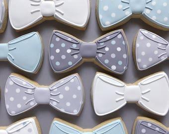Bow Tie Sugar Cookies