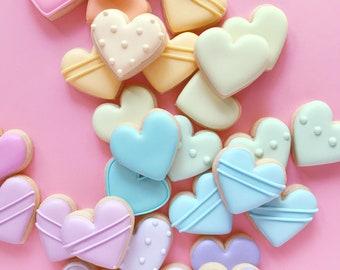 Mini Heart Sugar Cookies